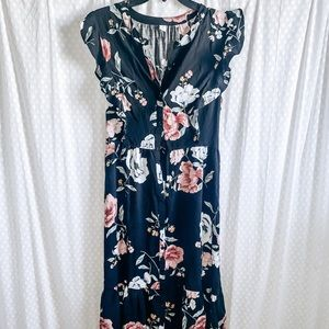 Old navy midi floral dress